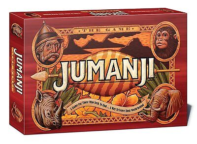 Jumanji Original Board Game - Play the Game that Pursues you! 8 Years and Older