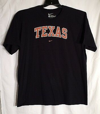 Nike Texas Long Horns Mens T Shirt Size large Color Black