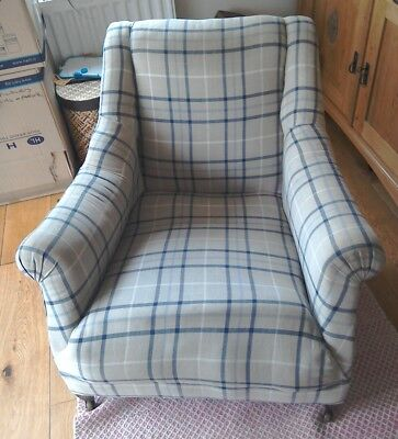 Edwardian Armchair Club chair for upholstery