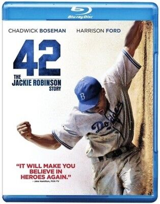 42 (Blu-ray Disc, 2013) NEW