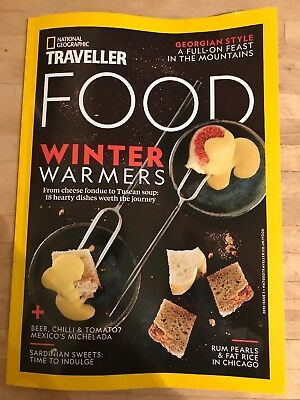 BRAND NEW National Geographic Traveller UK FOOD  MAAZINE- Issue 3, Not In Shops