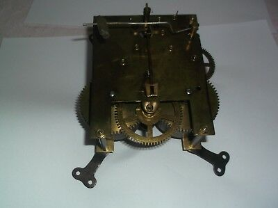 MECHANISM  FROM AN OLD  MANTLE CLOCK working order  REF JP4