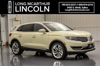 2018 Lincoln MKX RESERVE 2.7 V6 TURBOCHARGED AWD SUV MSRP $59910 MICRO PERFORATED HEATED COOLED LEATHER SEATING 21 INCH POLISHED ALUMINUM WHEELS
