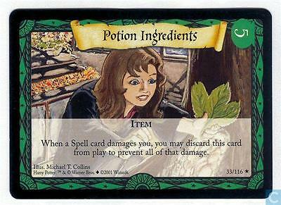Harry Potter TCG Base Set Potion Ingredients 33/116