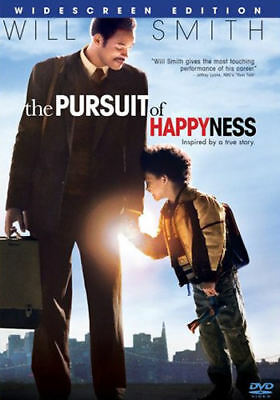 The Pursuit of Happyness (DVD, 2007, Widescreen) - Acceptable