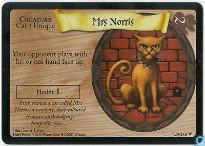 Harry Potter TCG Base Set Mrs. Norris 29/116