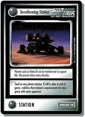 Star Trek CCG QC Q-Continuum Terraforming Station