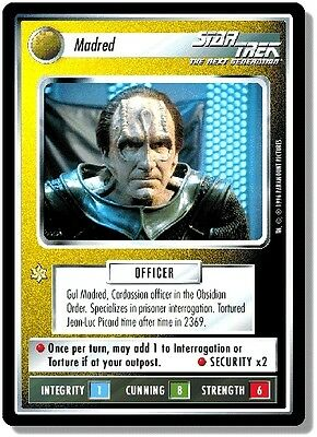 Star Trek CCG QC Q-Continuum Madred