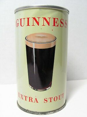 Guinness Extra Stout 12 oz pull tab beer can, Great Britain