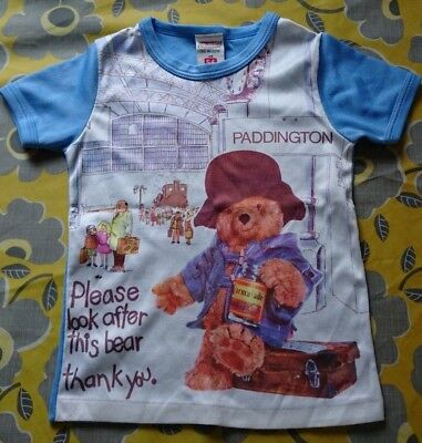 PADDINGTON Original St Michael (Marks and Spencer) T-shirt Age 5-6