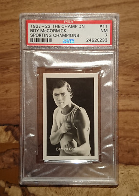 "1922-23 ""The Champion N° 11 Boy McCormick"" PSA graded ( NM / 7 )  #E-155 (TC-70)"