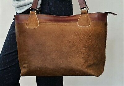Premium Quality Hand-stitched Cowhide bag / Hand Crafted, 100% Genuine