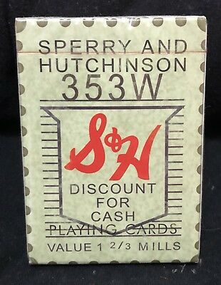Sperry & Hutchinson S&H Green Stamp Playing Cards
