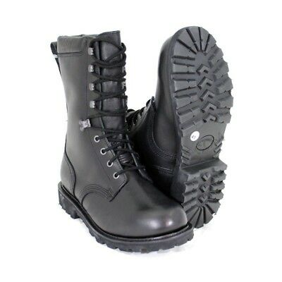 New French Army Winter Ranger Goretex boots Black leather paratrooper para