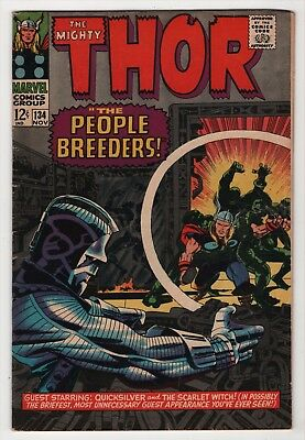 Thor #134 solid 1st appearance High Evolutionary 1966 Marvel create-a-lot & save