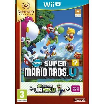 New Super Mario Bros.U Select Jeu Wii U