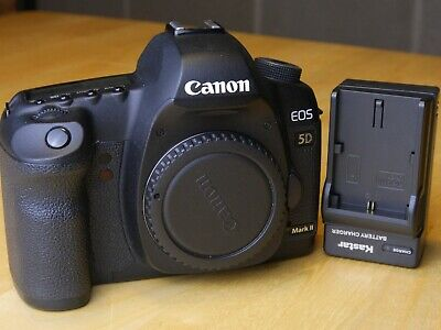 Canon EOS 5D Mark II body, good condition, 23k shutter count