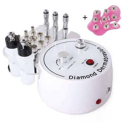WAM Direct 3 in 1 Diamond Microdermabrasion Dermabrasion Machine Facial Care