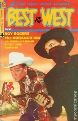 Best of the West (AC Comics) #4 1998 VF Stock Image