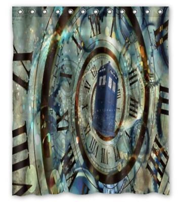 Great The Doctor Who Tardis Shower Curtain 60 X 72 Printed