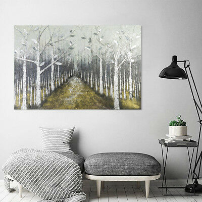 Huge Wall Decorate Canvas Art Oil Painting Pure Hand Painted : Tree (Framed)