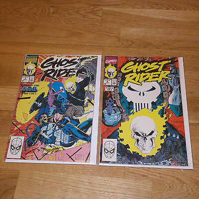 Ghost Rider Issue's #5 and #6    'Ghost Rider vs The Punisher'
