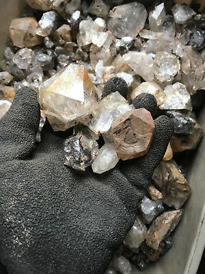 Herkimer Diamond Rough by the pound-1lb lots-PLEASE READ DESCRIPTION CAREFULLY