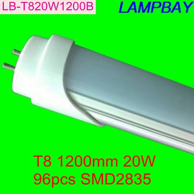 "40W 96"" T12 8ft LED Tube Single Pin F96T12 8' Fluorescent Replacement(4PC White)"