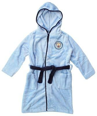 Liverpool Hooded Dressing Gown Bathrobe Age 3-12 years