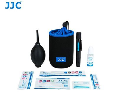 JJC CL-PRO1 Cleaning Kit Set Dust Blower Cleaner Wipe Cloth Storage Pouch 9 in 1