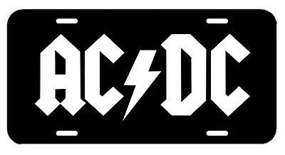 AC/DC ~ License Plate/Tag ~Angus Young-Rock-Metal-Motorhead/Gibson/SG/Malcolm