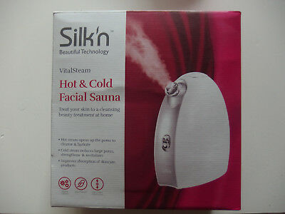 Silk`n VitalSteam # Hot & Cold Facial Sauna neu