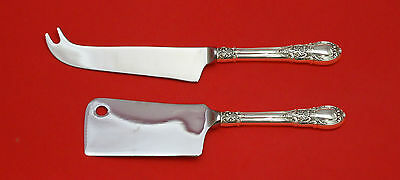 American Victorian by Lunt Sterling Silver Cheese Serving Set 2pc HHWS  Custom