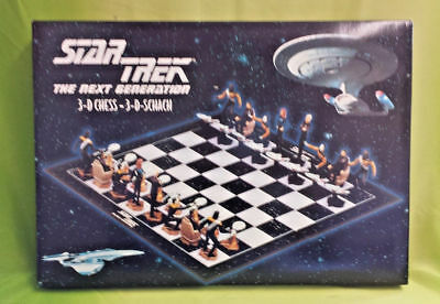Star Trek The Next Generation 3-D-Schach Schachspiel