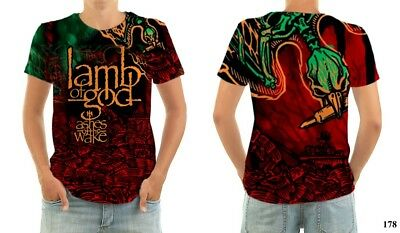 LAMB OF GOD ASHES OF THE WAKE shirt all sizes
