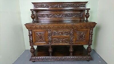 19th century Gothic Sideboard