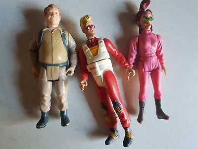 Vintage Columbia Pictures Figures Figurines Ghostbusters 1 and 2
