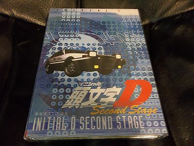 Initial D TV Series Collection Second Stage DVD (3 disc set) Anime