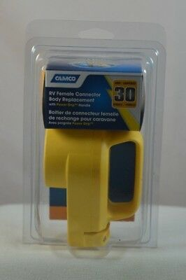Camco 55343 RV 30 Amp Power Grip Receptacle 23142