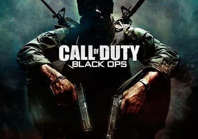 Call Of Duty Black Ops Large Wall Poster Various Sizes