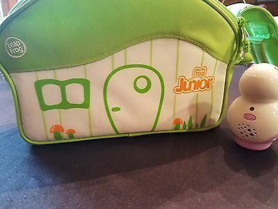 LeapFrog Tag Junior Reader and LOT 5 Books Reader and Carry Case