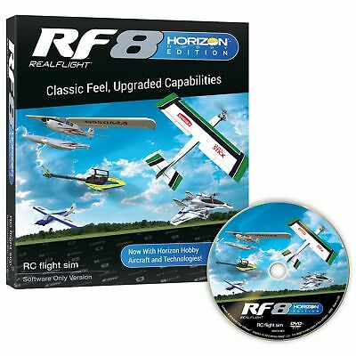 Real Flight RF8 Horizon Hobby Edition Software Only RFL1001