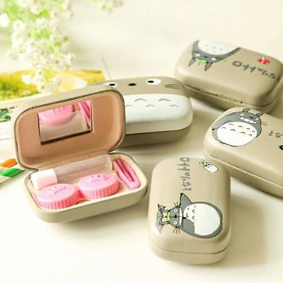 Durable Contact Lens Holder Storage Soaking Box Case Container For Travel  Tool