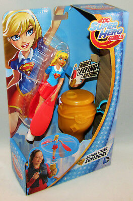 "DC Super Hero Girls Action Flying Supergirl 6"" Figure & Launcher"