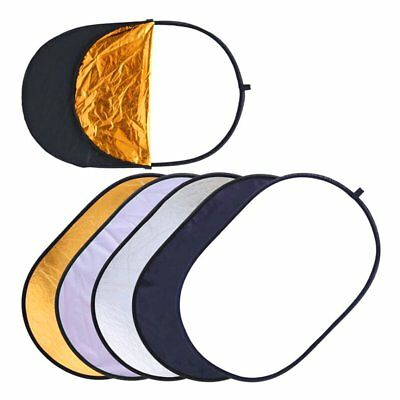 Five In One Photographic Reflector Elliptical Type Reflector Panel Reflector RS