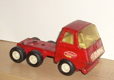 Vintage Red Tonka Truck Metal Toy 70's 80's