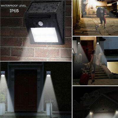 8-30 LED wasserdicht PIR Solar Power Motion Sensor Wand Garten Lightoutdoor Lamp