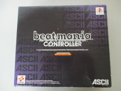 PS1 Sony PlayStation Beatmania Controller Boxed JAPAN No.1