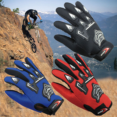 Adult/Kids Windproof Winter Motorcycle Full Finger Motorbike Racing Bike Gloves