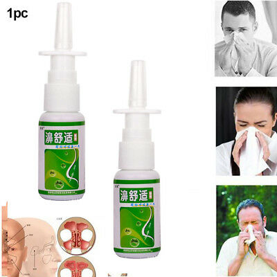 Nasal Spray Natural Chronic Rhinitis Sinusitis Nasal Congestion Itchy Allergic
